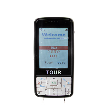 007B Automatic Tour Guide System with portable rece