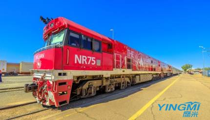 The Ghan in Alice Springs, Australia